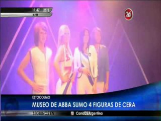 ABBA' s ARRIVAL To THE ABBA MUSEUM ( March 2015 )