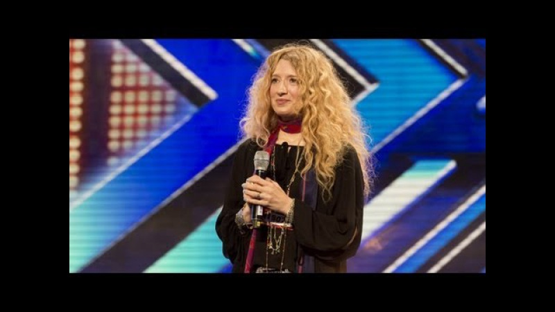 Melanie Massons audition - Janis Joplins Cry Baby - The X Factor UK 2012