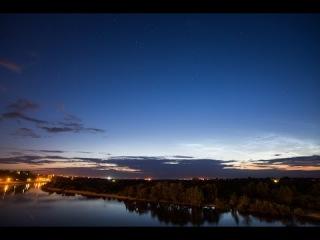 Noctilucent clouds(Серебристые облака)