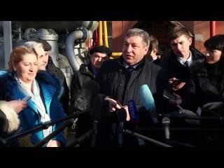 Визит вице-губернатора Санкт-Петербурга Игоря Албина на Василеостровскую ТЭЦ