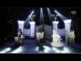  Выступление  2NE1 - IF I WERE YOU @SBS Inkigayo.