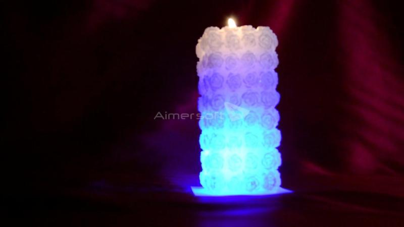 Свічка з діодом