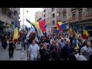 Mars pentru Basarabia - Editia 2014 - Filmare a intregii coloane unioniste.