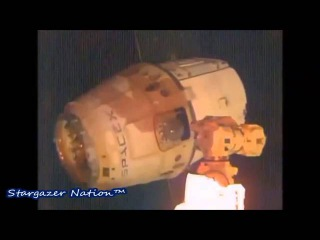 UFO Incident as SpaceX's Dragon CRS 4 Departs ISS for Re Entry back to Earth