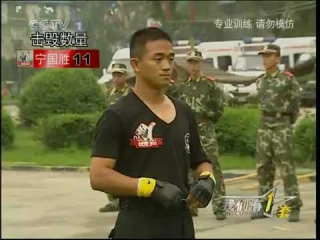 Chinese Police Martial Arts Training