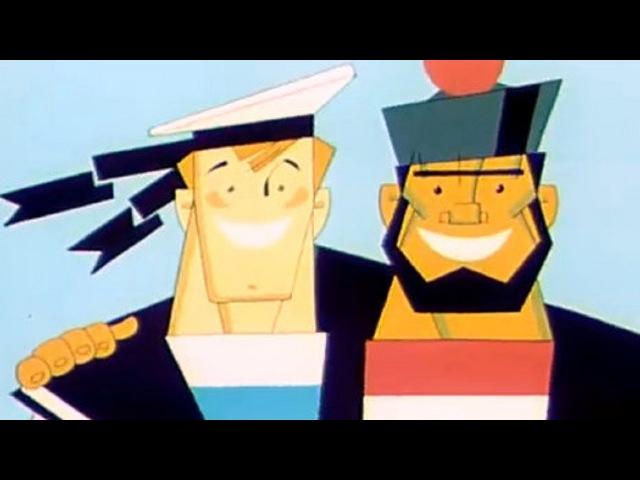 Советские Мультфильмы для детей Буквы Из Ящика Радиста Три буквы 1966
