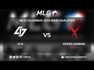 CLG vs. Vexed @ de_dust2