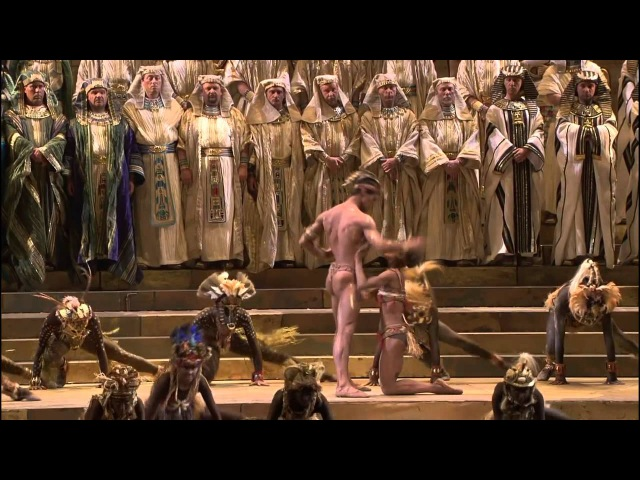 HD Gloria all' Egitto Marcia trionfale Ballabile Vieni o guerriero vindice from Verdi's Aida