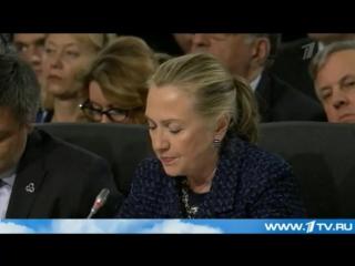 Хиллари Клинтон_ США не допустят воссоздания СССР.