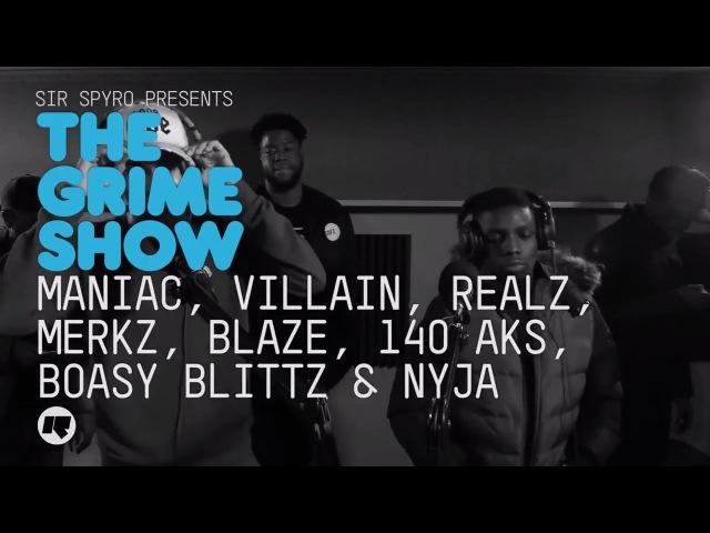 Grime Show Maniac Villain Realz Merkz Blaze 140 AKS Boasy Blittz Nyja