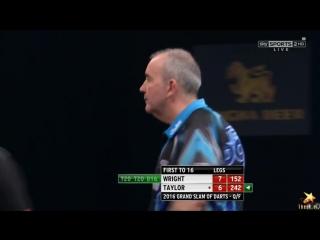 Peter Wright vs Phil Taylor (Grand Slam of Darts 2016 / Quarter Final)