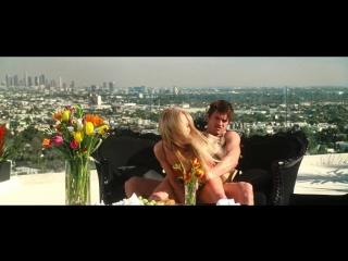 Anne Heche - Spread (2009)(sex scene, сцена секса, эротика, постельная сцена, раком, трах, кончил, порно)