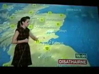 Scottish Weather Forecast (in Scots Gaelic)
