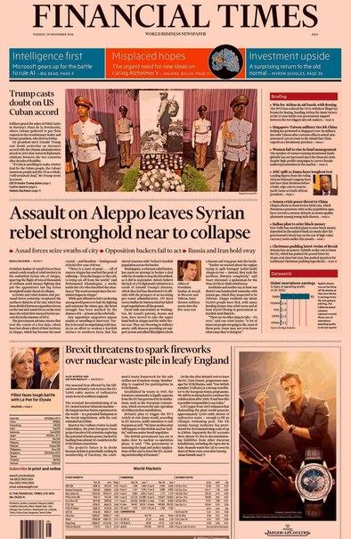 Financial Times Asia  November 29 2016