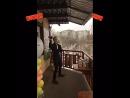 Бармен шоу на холоде - экстрим флейр)