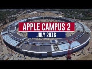 APPLE CAMPUS 2: July 2016 Construction Update 4K