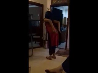 Cute desi pakistani girl sexy dance at home 2017
