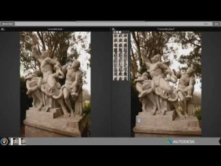 Autodesk ReCap 360 - Add images and manual stitch video