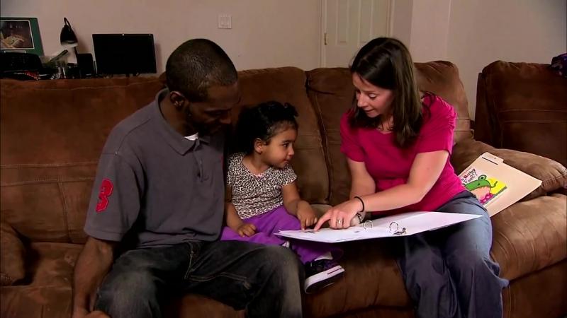 Coaching parents on toddler talk to address word gap