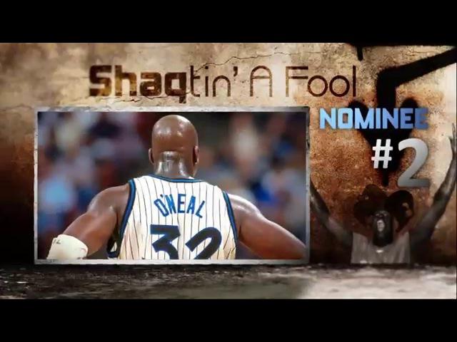 EJ's Neato Stat of the Night - Shaq actin' a fool