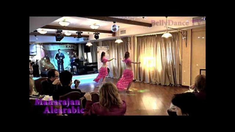Bellydance TV - Maharajan Alearabic - Виктория Такшеева и Елена Парамонова