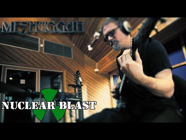 MESHUGGAH - Recording at Puk Studios The Violent Sleep of Reason (INTERVIEW)