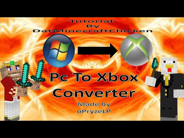 Minecraft | how to convert PC maps to XBOX Tutoiral