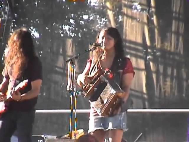 Rosie Ledet the Zydeco Playboys @ 2010 Simi Valley Cajun Blues Music Fest