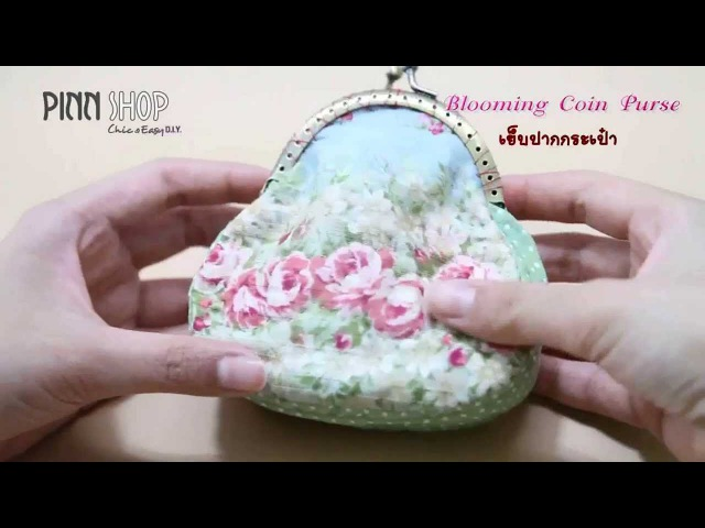 Blooming Coin Purse_PINN SHOP