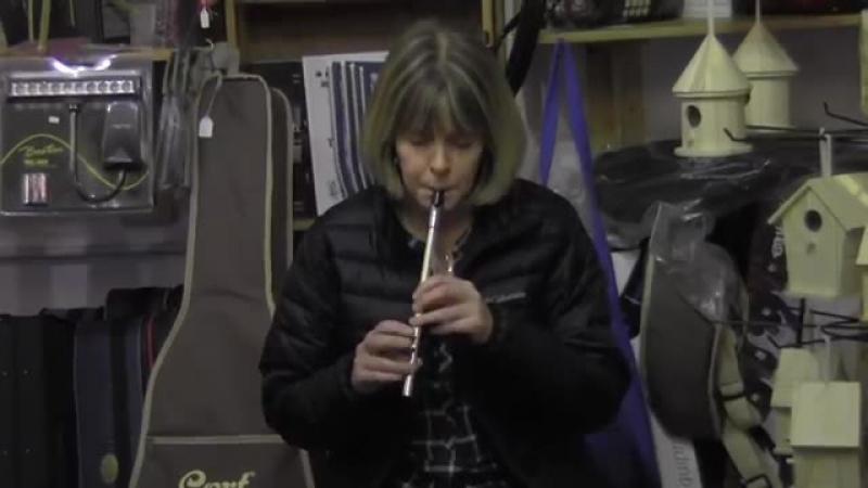 Kathleen Conneely on Tin Whistle in Custy's