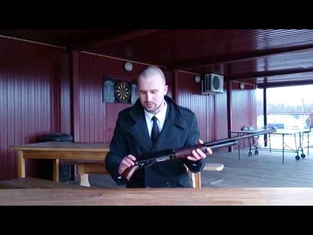 ИЖ 81 Ягуар - помповое ружьё, популярное оружие самозащиты в 90-е годы, краткий обзор