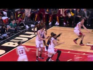Kyrie Irving Leg Injury | Cavaliers vs Bulls | Game 6 | May 14, 2015 | 2015 NBA Playoffs