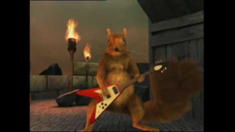 Pikku Orava Taivas lyö tulta