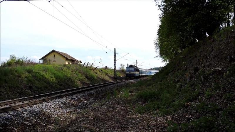Vlaky - Zeleznice Strezimir, Hermanicky