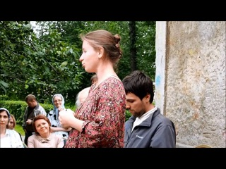 Беседа еп. Пантелеимона с супругами Всеволодом и Анастасией