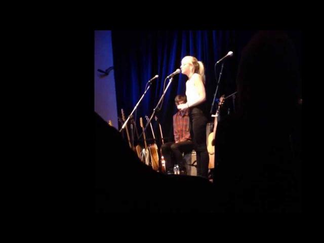 Emily Kinney Dad Says Acapella 5 20 15 live @ Eddie s Attic in Decatur Ga