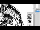 ABACROMBIE INK - Dry Mother Love Preview / Skull speed drawing