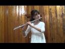 И Бах Шутка флейта Корякина Мария