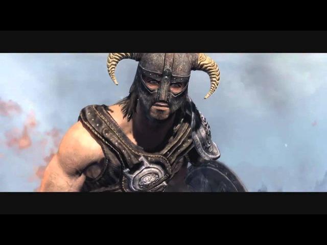 Skyrim новый драконий крик (стримерша Карина)