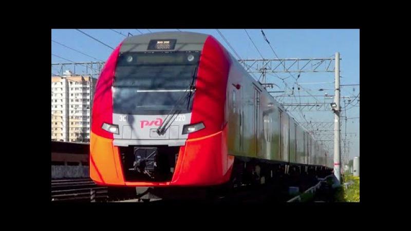Электропоезда ЭС1-020 ЭС1-030 Ласточка