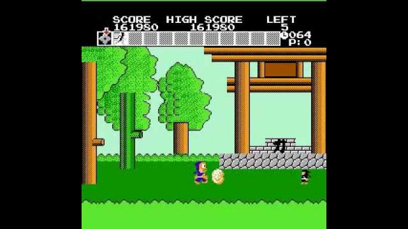 Ninja Hattori kun Ninja wa Shuugyou de Gozaru no Maki Famicom By Sting