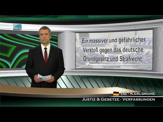 Verfassungsschutz in Deutschland: Wer muss vor wem geschützt werden? 13.02.2016 MK