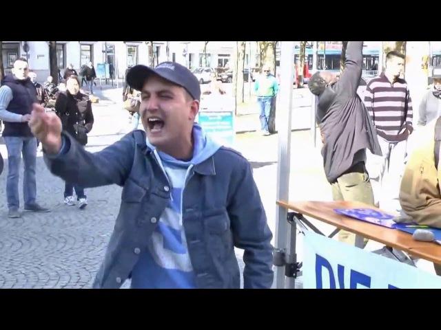Ich bin bereit für Allah zu töten Deutschland gehört Allah Jesus war Moslem