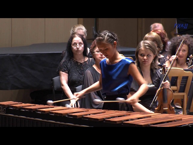 Bailak Mongush Concerto for marimba and String orchestra by Emmanuel Sejourne part 2