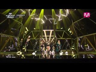  Выступление  2NE1 - COME BACK HOME @M COUNTDOWN.