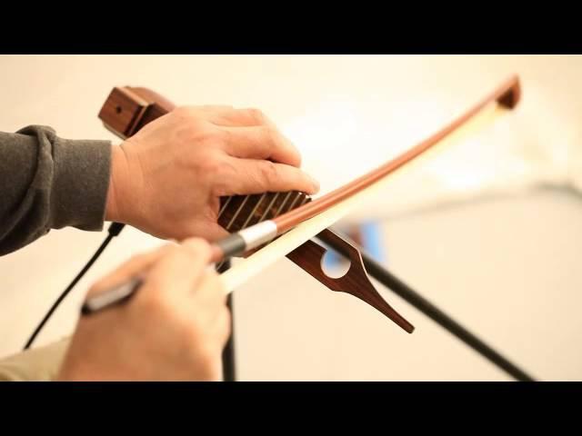 ダクソフォンのセッティング法と弓を使った基本奏法 サンレコ2014年6 2