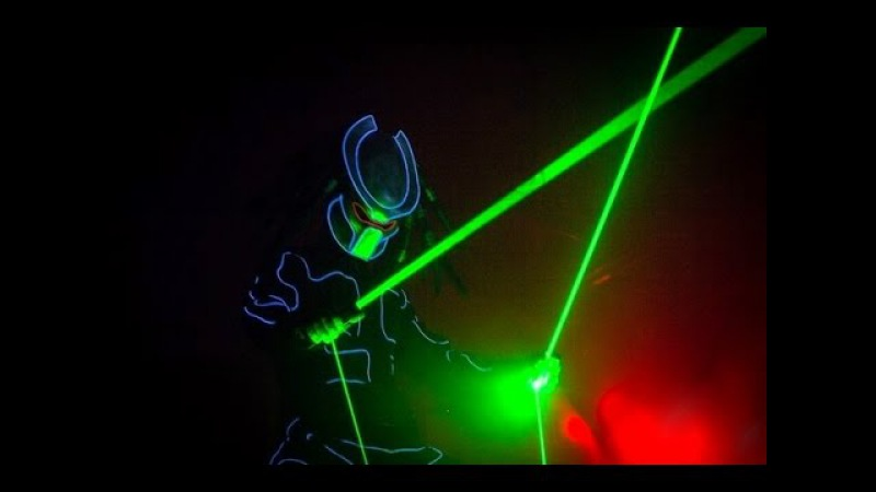 Laser Man show Красноярск