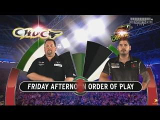 Alan Norris vs Jelle Klaasen (PDC World Darts Championship 2016 / Quarter Final)