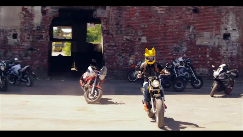 Мотоцикл девочки демона из полицейского с рублевки