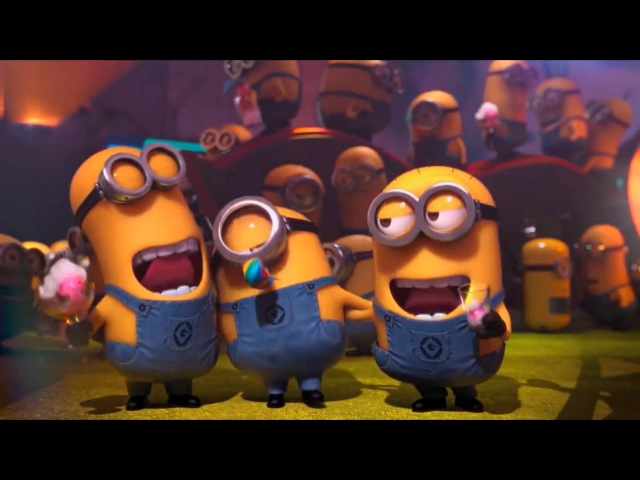 Little Minions singing the Happy Birthday Song Nursery Rhymes videos Kids Family Songs Educational